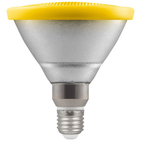 13W LED PAR38 ES Lamp Yellow