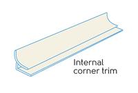 2.50m - 1 PART EXTERNAL CORNER IVORY