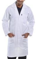 White PolyCotton Warehouse Coat