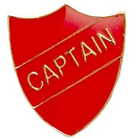 Captain - Badge (Red)