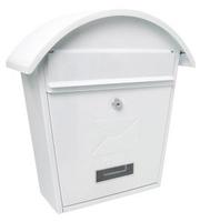 Classic 2 Post Box - Matt White