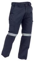 TWZ Hi Vis Tape Industrial Cotton Cargo Trouser 300gsm