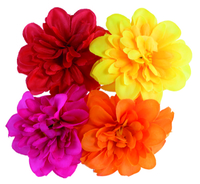 Artificial Flower Dahlia - Mixed Colours