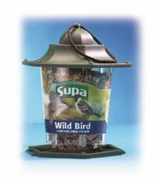 Supa Plastic Lantern Seed Feeder x 1