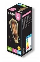TRILLION 60W B22 GOLD CAGE LAMP