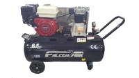 FALCOM 6.5HP HONDA ENGINE 100LTR BELT DRIVE COMPRESSOR (Ploughing Special Discount Price)