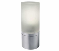 One Light Aluminium Pole with Opaque Glass  22cm E27 IP54 | LV1202.0334