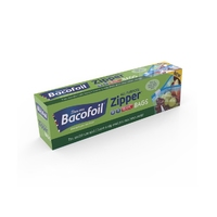 BacoFoil Zip n Seal Food & Freezer Bags 15 Small