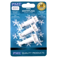MINI SNOWFLAKE PLUNGER CUTTERS - SET OF 3