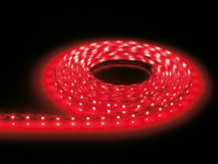 12VDC RED LED FLEXIBLE STRIP PER METRE