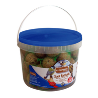 KINGFISHER WILD BIRD FAT BALLS TUB OF 50