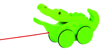 Croc Pull along (P/Sng Min 1)