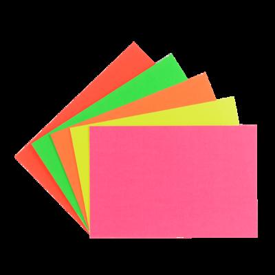 """LYNX CA1 12"""" x 8"""" flourescent card (10 Packs of 6)"""