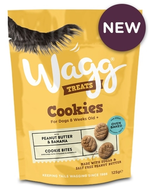 Wagg Cookies Peanut Butter with Banana 125g x 7