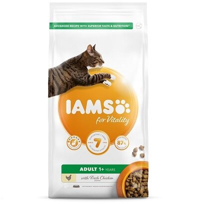 Iams Cat Adult Vitality Chicken 10kg