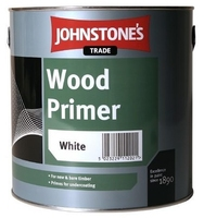 JOHNSTONES WOOD PRIMER WHITE 250 ML