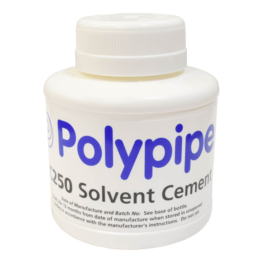 Polypipe 250ml SC250 Solvent Cement