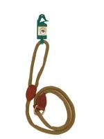 """Country Pet Luxury Rope Slip Lead Beige 12mm x 71"""" x 1"""