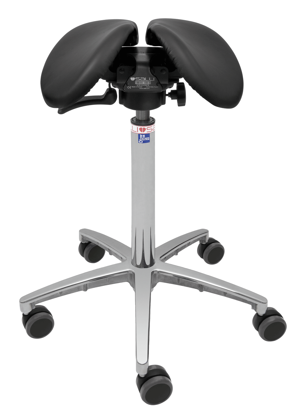 Salli Swingfit Stool- available to order from DMI - Ireland's Leading Professional Dental Supplier - ROI: 01 427 3700 | NI: 028 9260 1000
