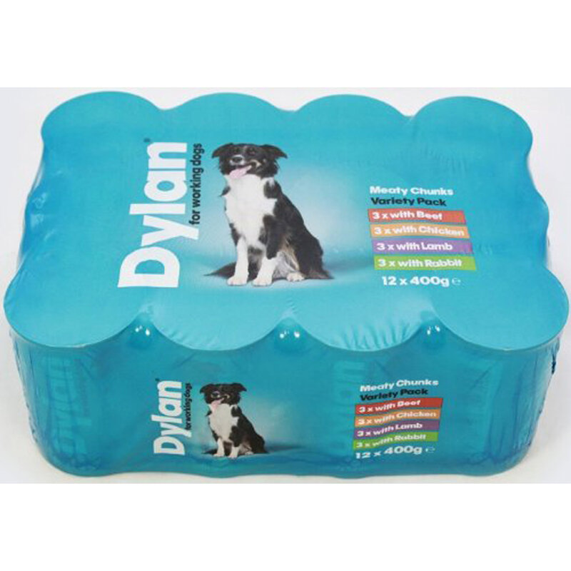 Dylan For Working Dog Variety 6 x 1200g