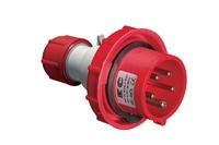 IP67 Straight Plug 3 Pin + Earth + N 380V 125A
