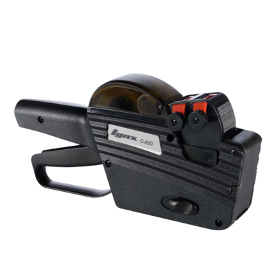 LYNX C-A20 Two-Line Price Gun with 10+10 Bands (Top Line: Alphanumeric)