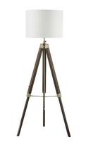 Easel Tripod Floor Lamp Dark Wood, Base Only | LV1802.0147