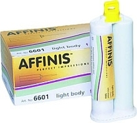 COLTENE AFFINIS LIGHT BODY FAST SET SYSTEM 50 50ML X 2 & MIXING TIPS X 12