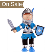 Wooden Play Figure - Knight