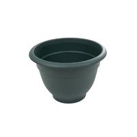 Bell Pot 36cm Round Planter Green
