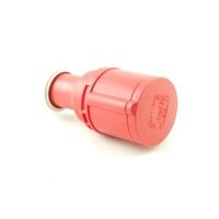 CEE S4166S Coupler 16A 400V 5P Red