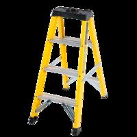 4 Step Single-Sided Fibreglass Step Ladder