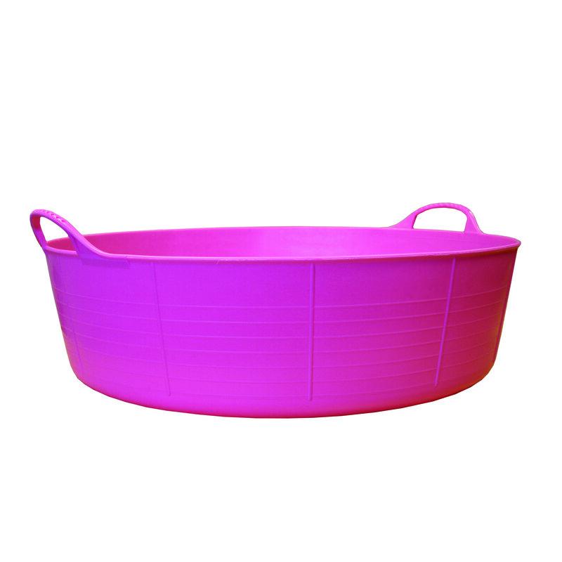 Red Gorilla Tub Pink Small Shallow 15L