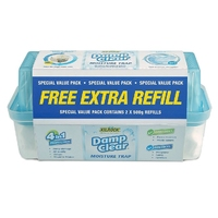 Kilrock Damp Clear Moisture Trap WITH EXTRA REFILL