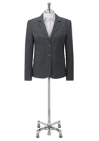 Charcoal Elle Ladies Two Button Jacket