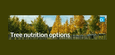 Tech Note: Tree Nutrition Options