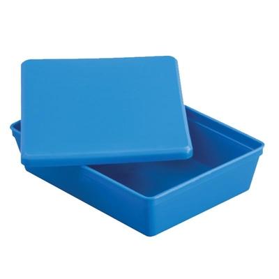 Instrument Tray & Lid Blue 200 x 70 x 50mm