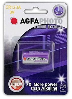 AgfaPhoto Lithium Battery 123A