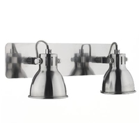 Idaho Duo Wall Light Bar Spot, GU10 Natrual Chrome | LV1802.0030