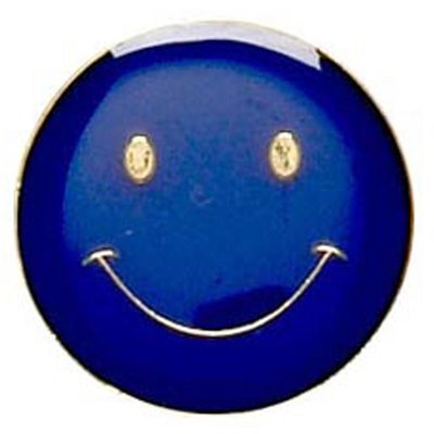 Smiley Face (Blue)