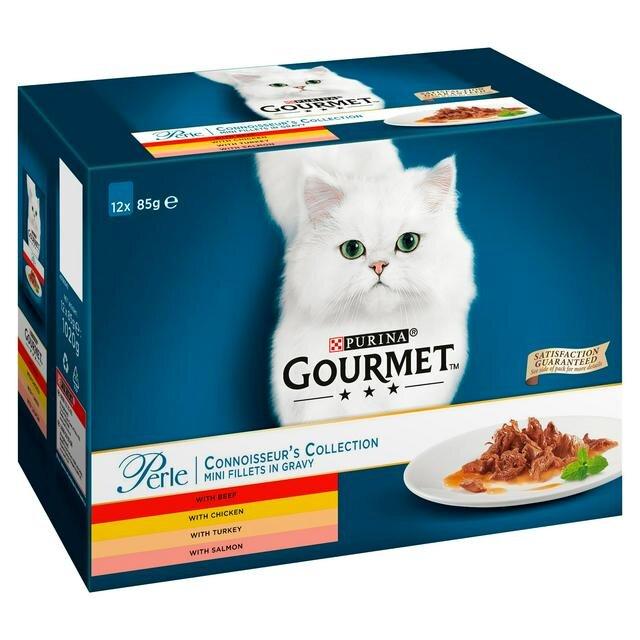 Gourmet Perle Connoisseurs Selection 4 x 12 x 85g