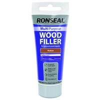 Ronseal Multi Purpose Wood Filler Tube 100g Medium