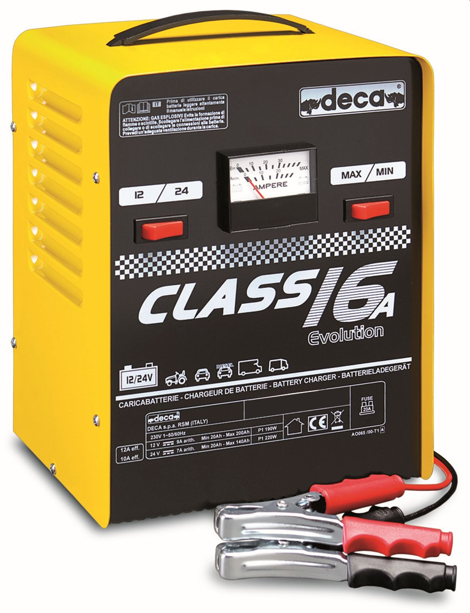Deca Class Battery Charger 16Amps