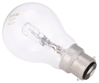 Solus (60W = 46W) BC Clear A55 Halogen E/Saver 252pc Stand