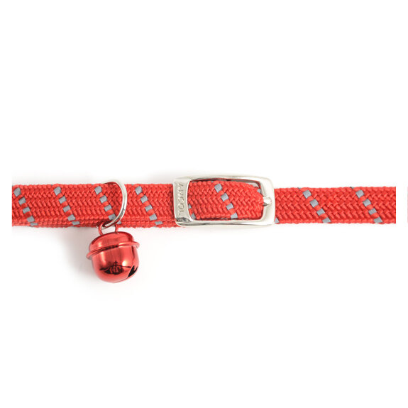 Ancol Reflective Red Cat Collar
