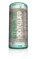 KNAUF ECOSE EARTHWOOL 150MM 9.18 SQ MTRS LOFT ROLL