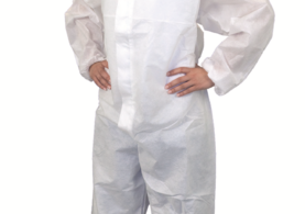 Prosafe1 Coverall White
