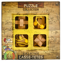 Expert Wooden Puzzle Collection