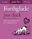Forthglade Adult Dog Tray Just Duck 395g x 18