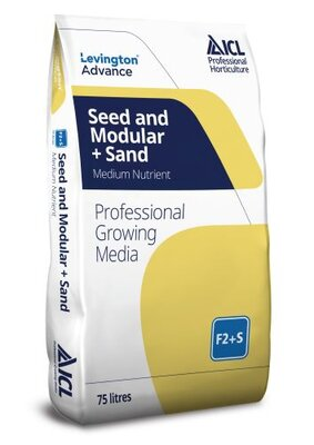 Levington Advance Growing Medium Seed & Modular with Sand F2S 75lt
